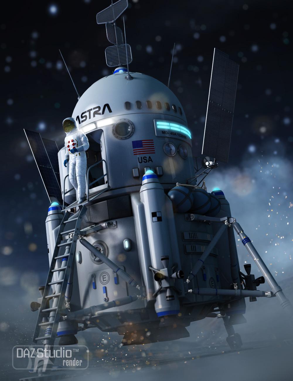Moon Lander 2 by: petipet, 3D Models by Daz 3D