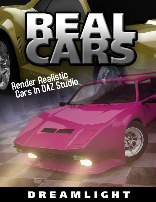 Real Cars - Render Realistic Cars In DS by: Dreamlight, 3D Models by Daz 3D