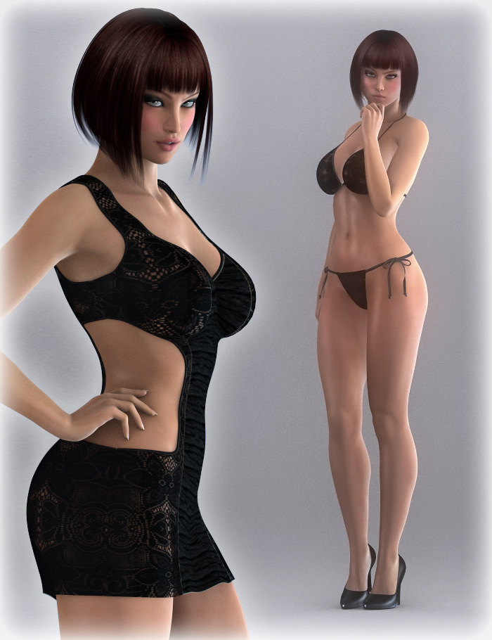 DMs Sensual V6 - I by: Daniemarforno, 3D Models by Daz 3D