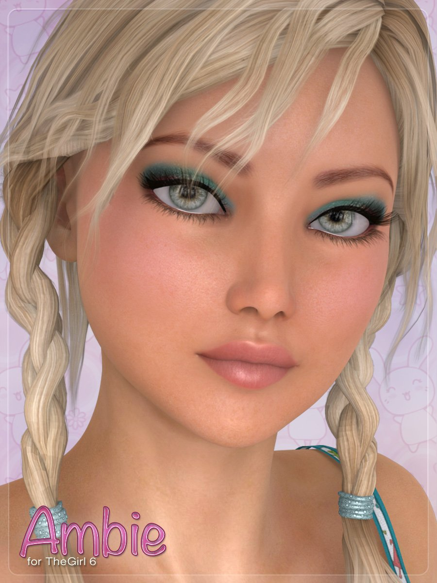 Ambie by: DemonicaEviliusJessaii, 3D Models by Daz 3D