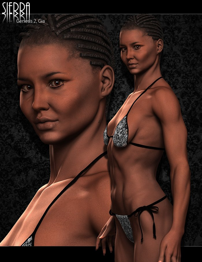 Sierra for Gia by: ForbiddenWhispersJSGraphics, 3D Models by Daz 3D
