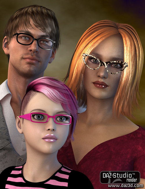 SPEX for Genesis by: SloshWerks, 3D Models by Daz 3D