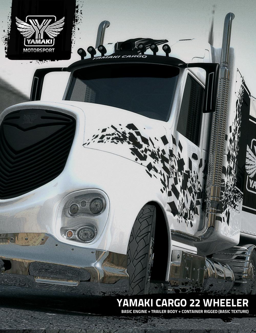 Yamaki Cargo by: Ravnheart, 3D Models by Daz 3D