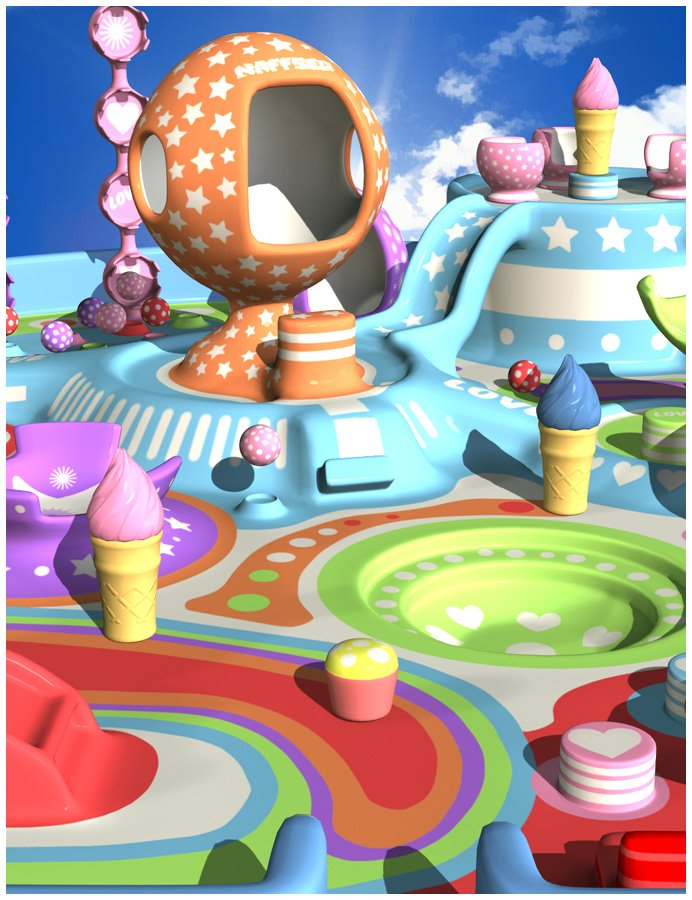 FunLand by: Oskarsson, 3D Models by Daz 3D