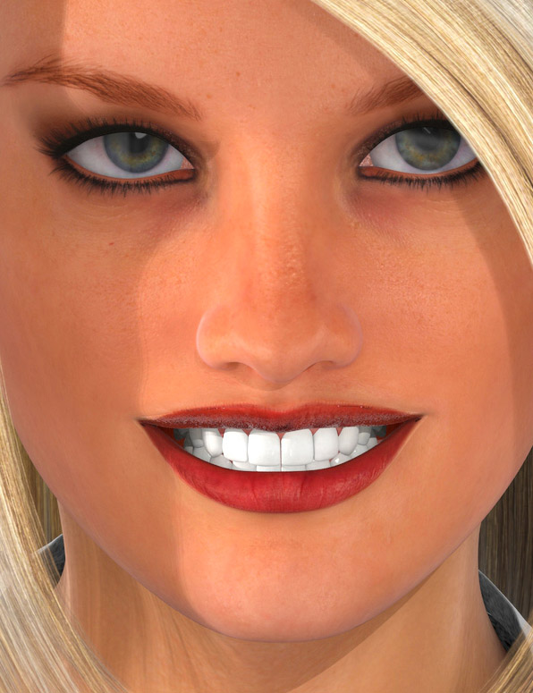 Smile Delight for Genesis 2 Female(s) by: Cake One, 3D Models by Daz 3D