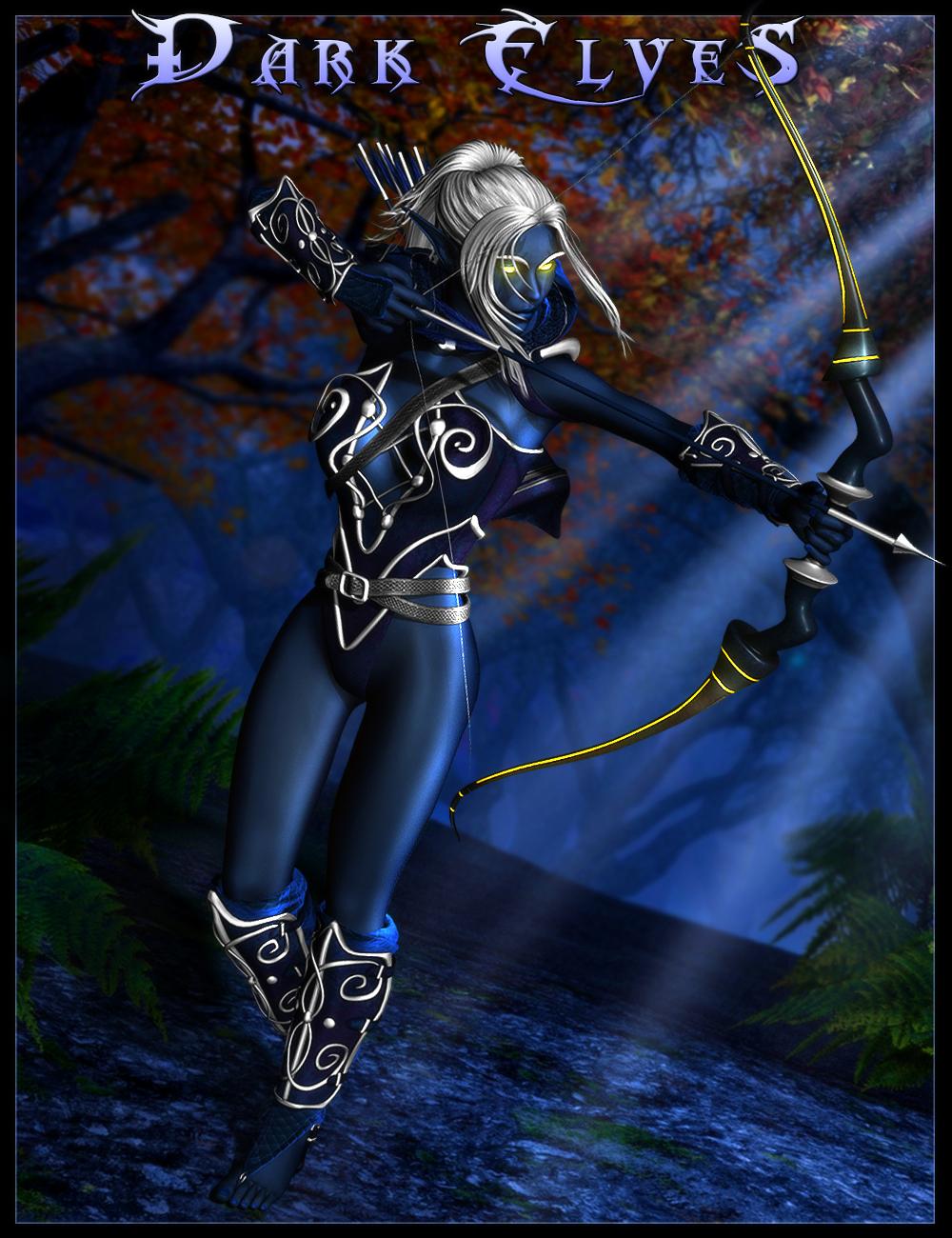 Dark Elves for Genesis 2 Female(s) by: IgnisSerpentus, 3D Models by Daz 3D