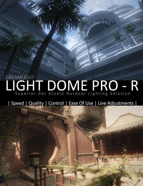 Light Dome PRO - R by: Dreamlight, 3D Models by Daz 3D