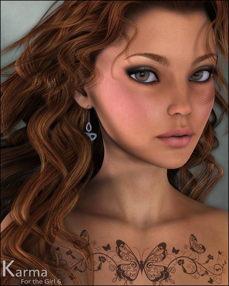 Karma by: CountessJessaii, 3D Models by Daz 3D