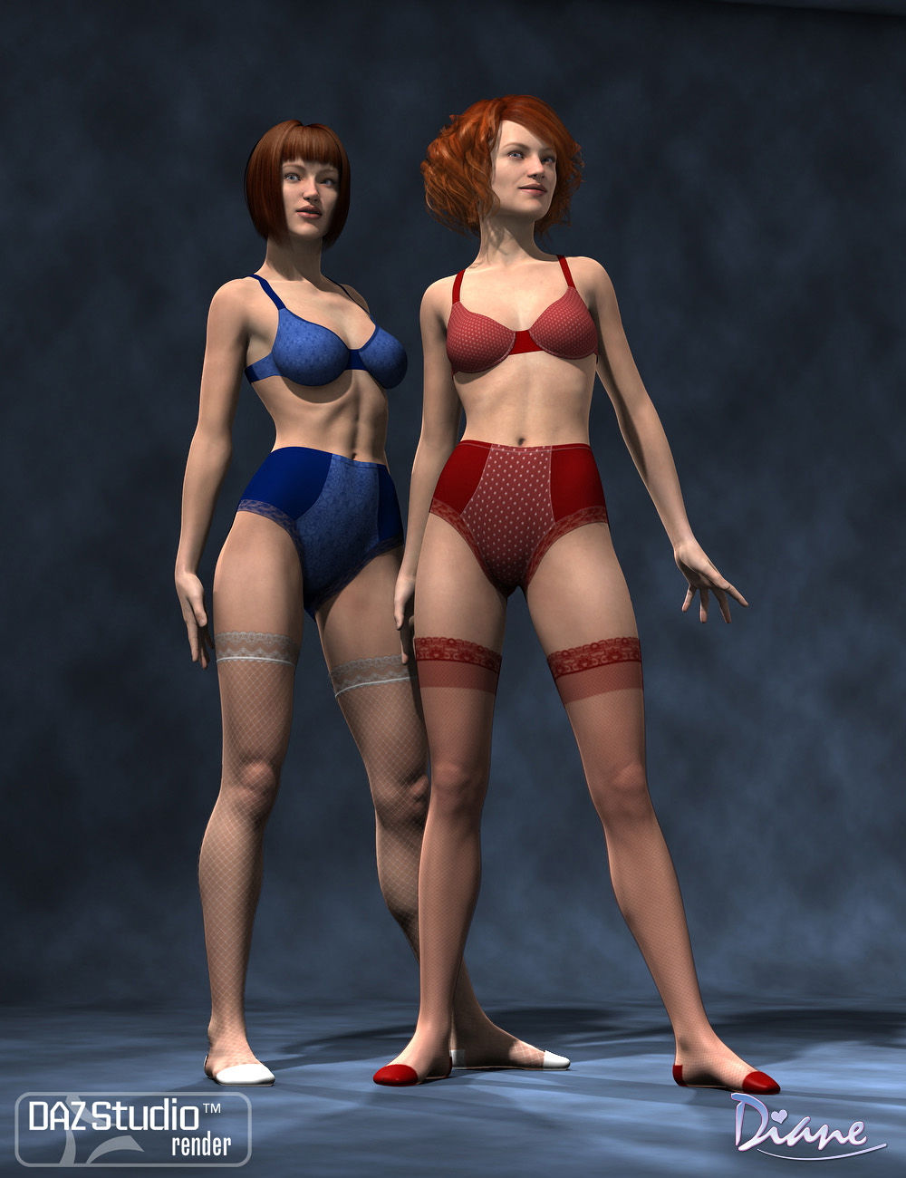 Boudoir Clothing Add-On Textures by: Diane, 3D Models by Daz 3D