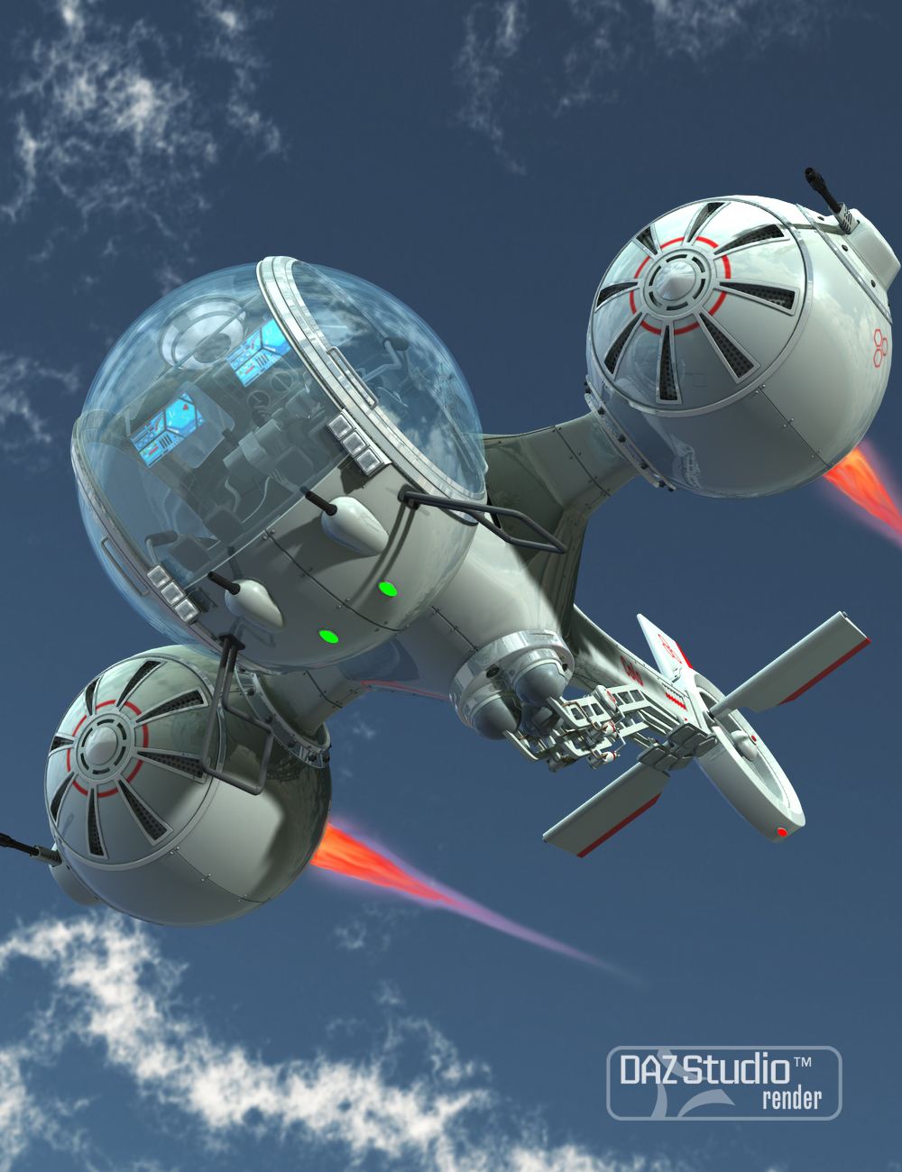 Aircraft Colo by: petipet, 3D Models by Daz 3D