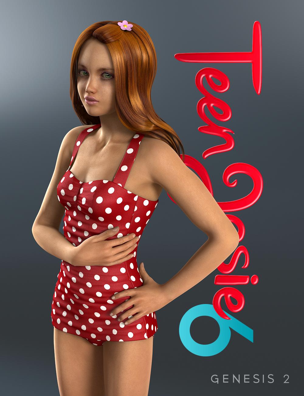 Teen Josie 6 by: , 3D Models by Daz 3D