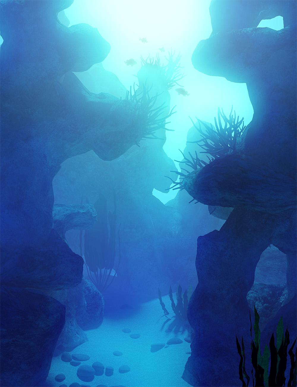 Gardens of Poseidon - Reef Rocks by: Orestes Graphics, 3D Models by Daz 3D