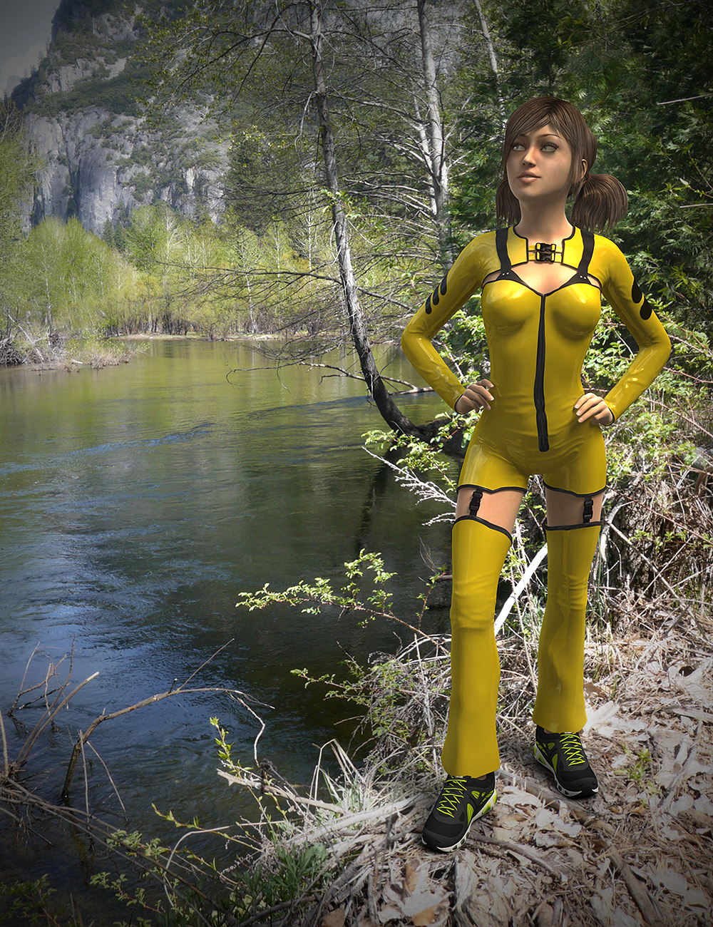 HDR ProSets Yosemite Pack One by: DimensionTheory, 3D Models by Daz 3D