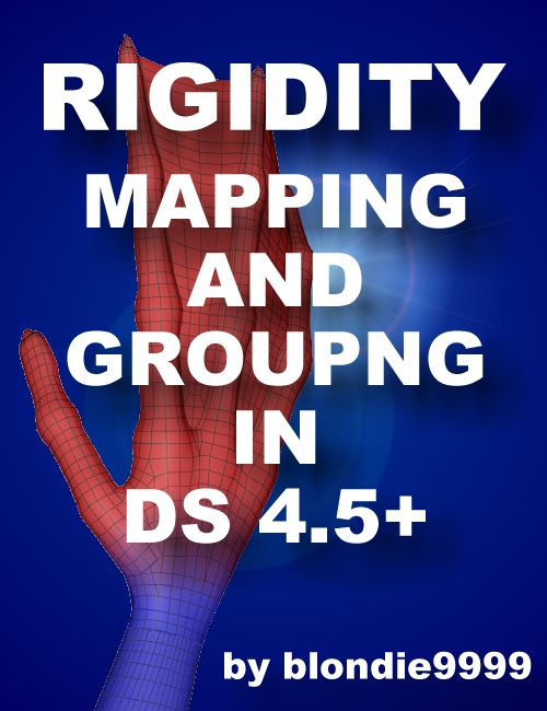 Rigidity Grouping and Mapping in DS 4.5+ by: blondie9999, 3D Models by Daz 3D