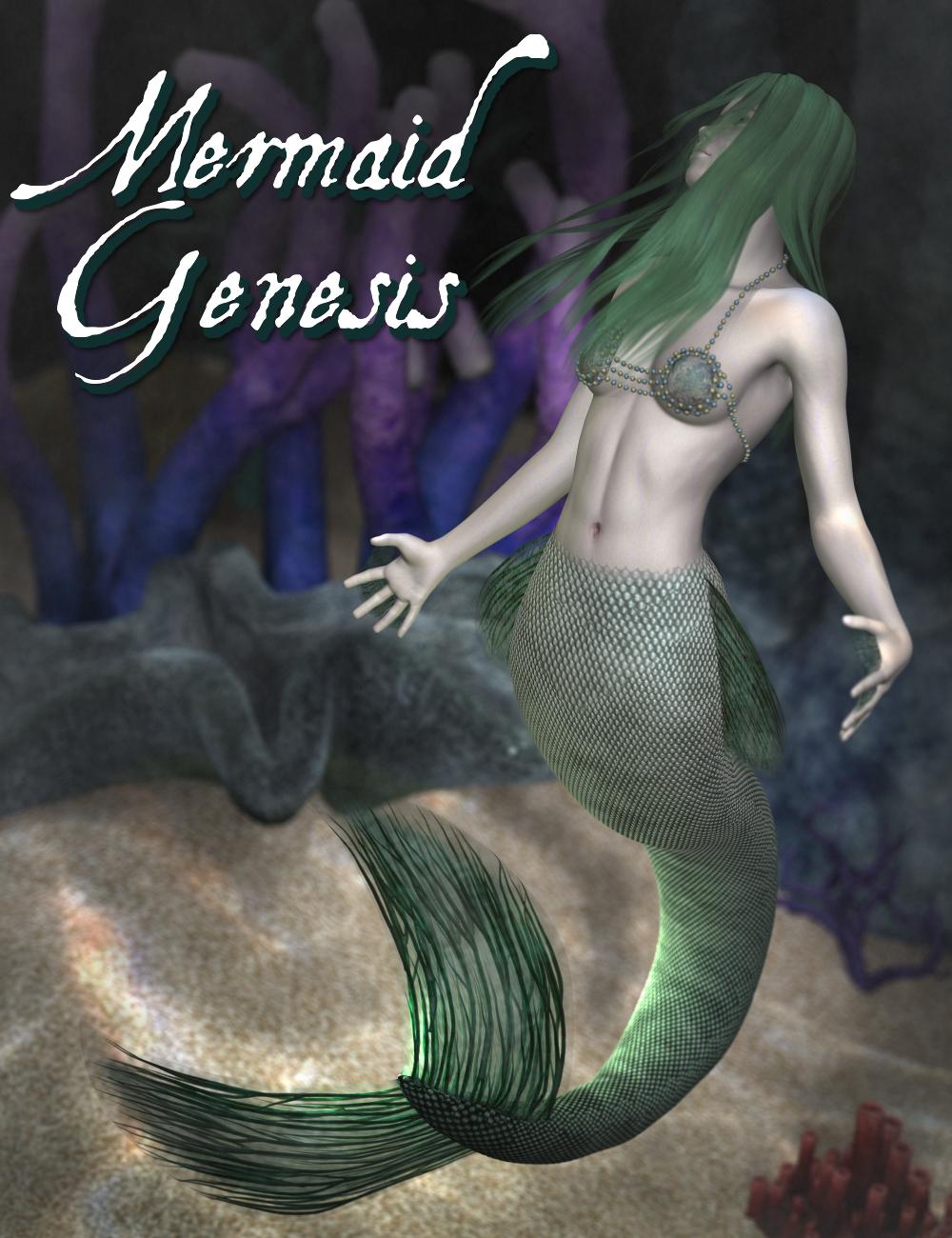 Mermaid Genesis by: SickleyieldFuseling, 3D Models by Daz 3D