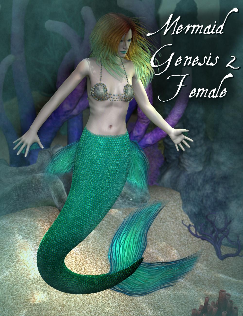 Mermaid Genesis 2 Female(s) by: SickleyieldFuseling, 3D Models by Daz 3D