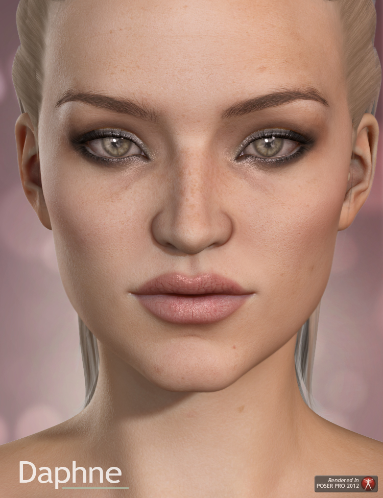 Daphne for V6 by: Raiya, 3D Models by Daz 3D
