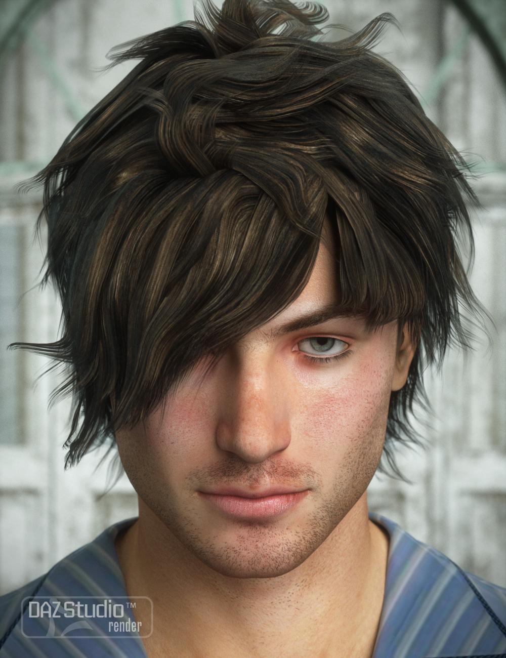 Crazy Locks Male Hair by: goldtassel, 3D Models by Daz 3D