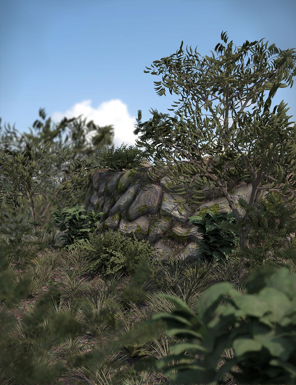 Orestes Plants Vol. 1 by: Orestes Graphics, 3D Models by Daz 3D
