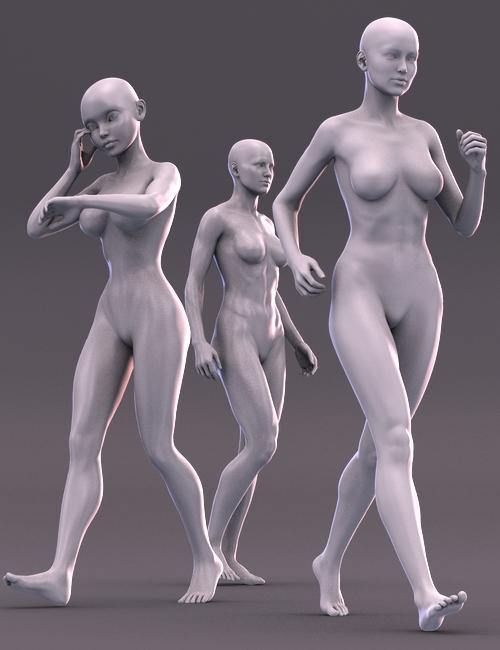 Walk Don't Run by: blondie9999, 3D Models by Daz 3D