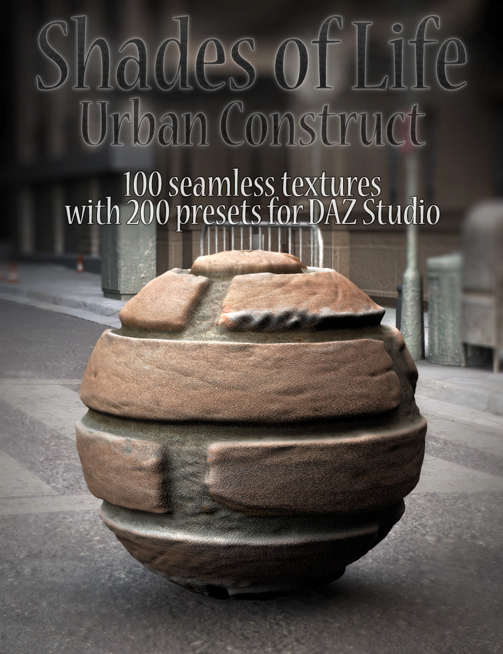 Shades of Life - Urban Construct by: DimensionTheory, 3D Models by Daz 3D