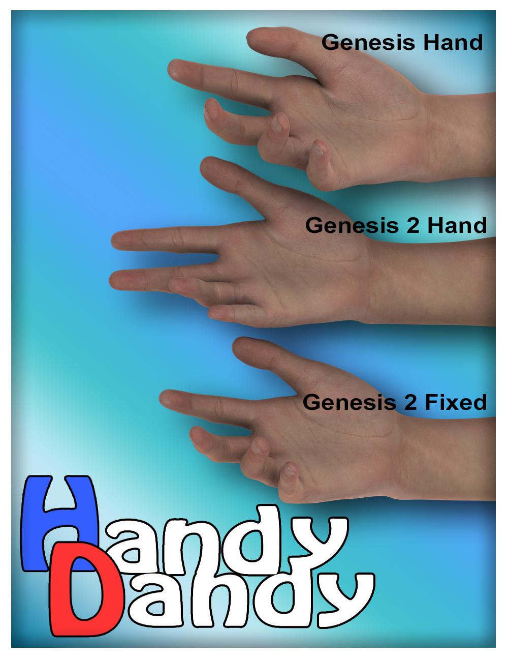 Handy Dandy by: SloshWerks, 3D Models by Daz 3D