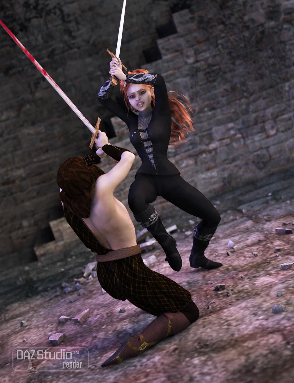 Milady's Blade for Genesis 2 Female(s) by: FeralFey, 3D Models by Daz 3D