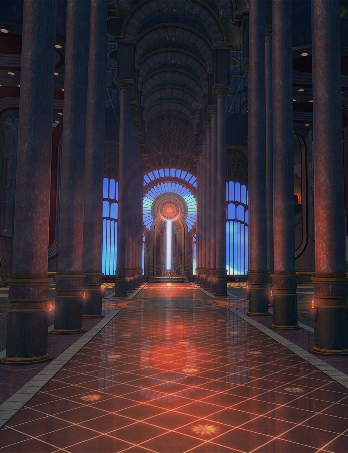 Sun Hall by: SoulessEmpathy, 3D Models by Daz 3D