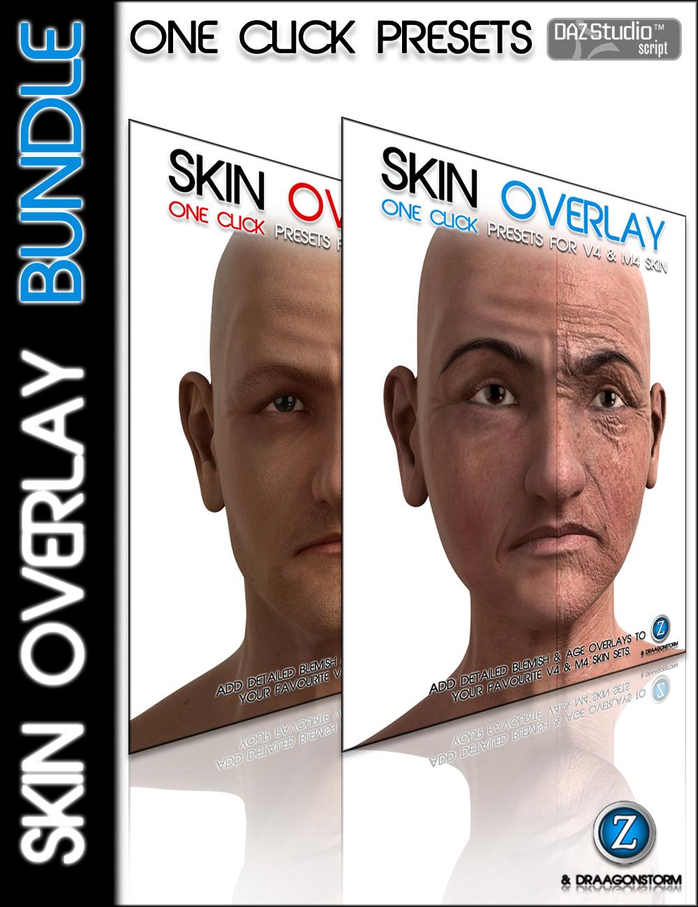 Skin Overlay Bundle by: DraagonStormZev0, 3D Models by Daz 3D