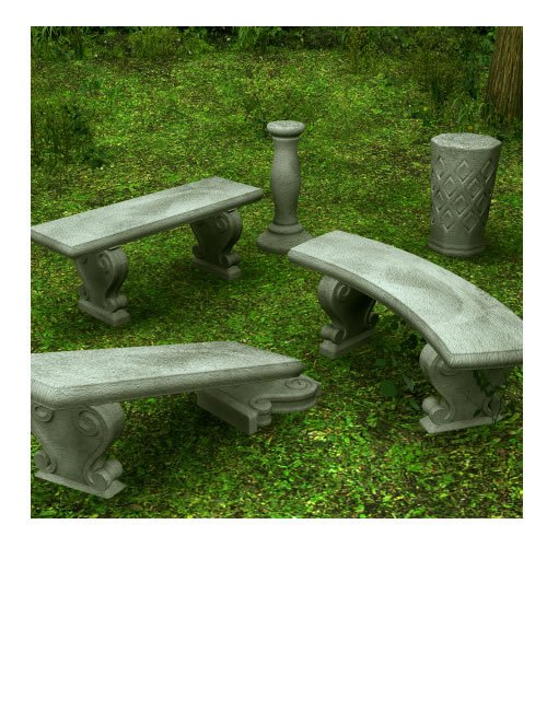 Garden Accessories by: , 3D Models by Daz 3D