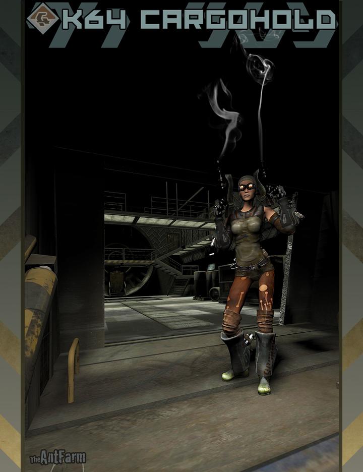 k64 CargoHold by: The AntFarm, 3D Models by Daz 3D