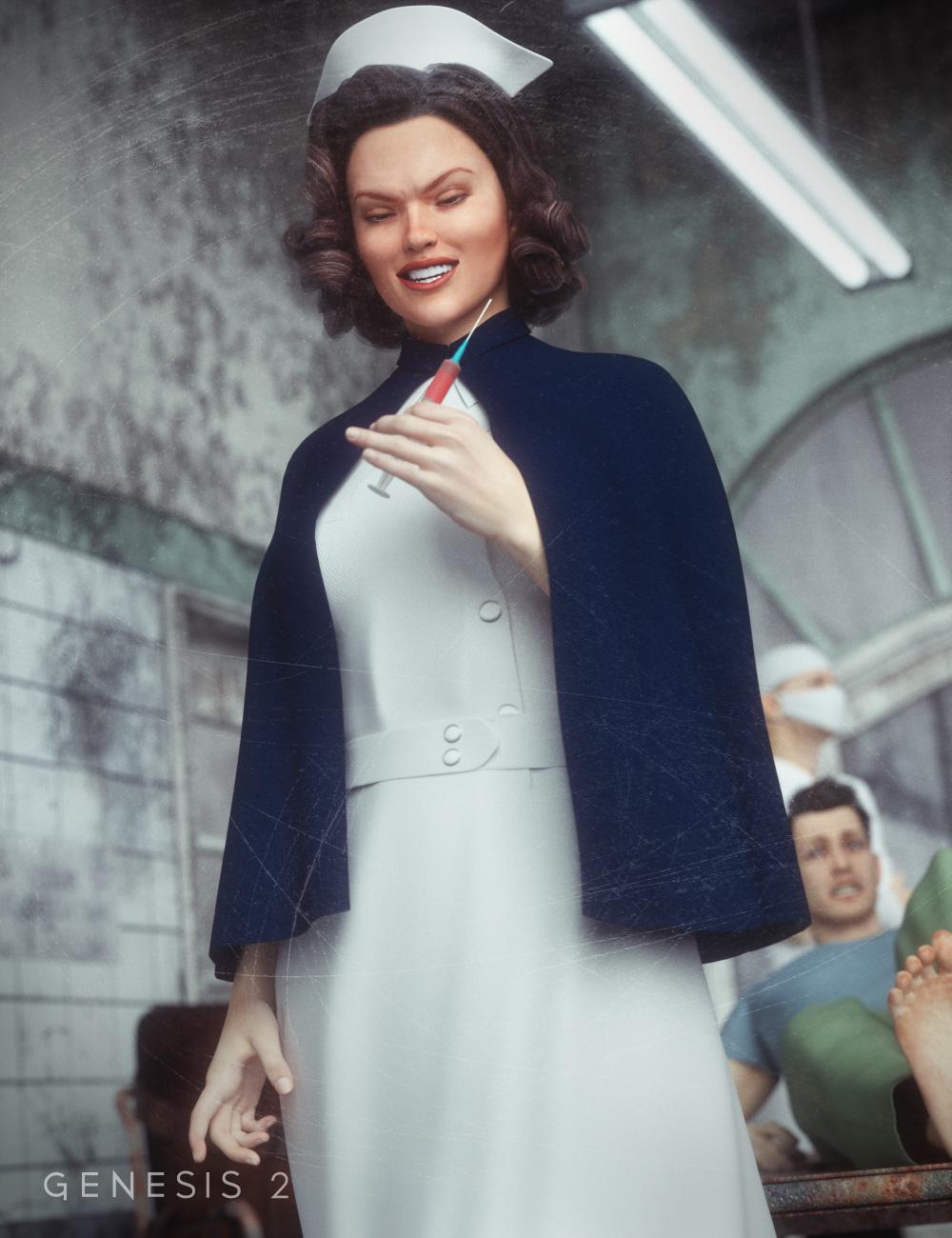 Mad Nurse for Genesis 2 Female(s) by: Ravenhair, 3D Models by Daz 3D