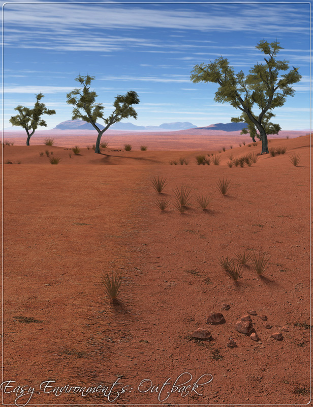 Easy Environments: Outback by: Flipmode, 3D Models by Daz 3D