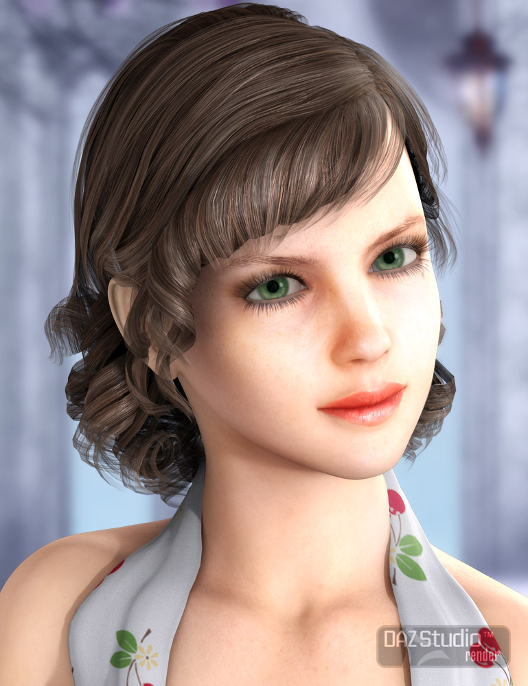 Wren Hair by: AprilYSH, 3D Models by Daz 3D