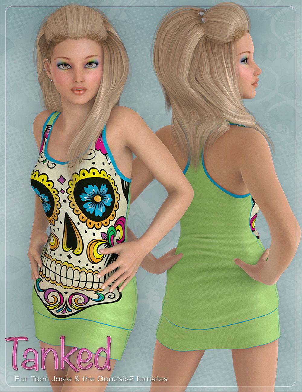 Tanked for Genesis 2 Female(s) by: DemonicaEviliusJessaii, 3D Models by Daz 3D