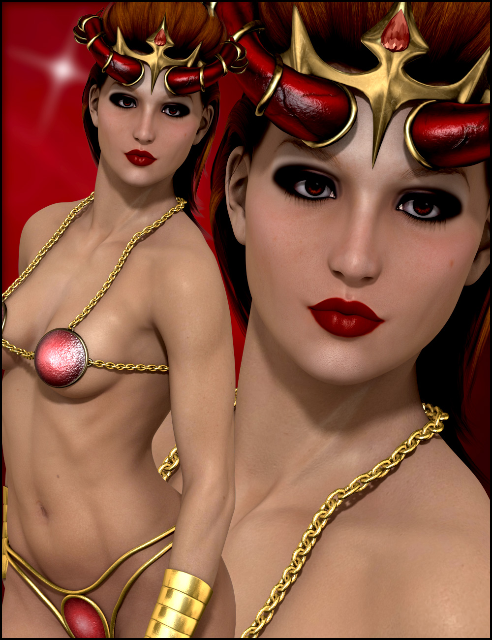 Gabriella for Gia by: ARTCollaborations, 3D Models by Daz 3D