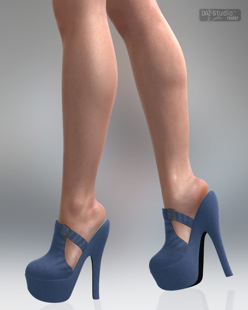 Trendy Platforms for Genesis2 Female(s) by: Lilflame, 3D Models by Daz 3D