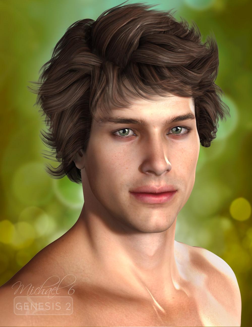 Micah Hair by: AprilYSH, 3D Models by Daz 3D