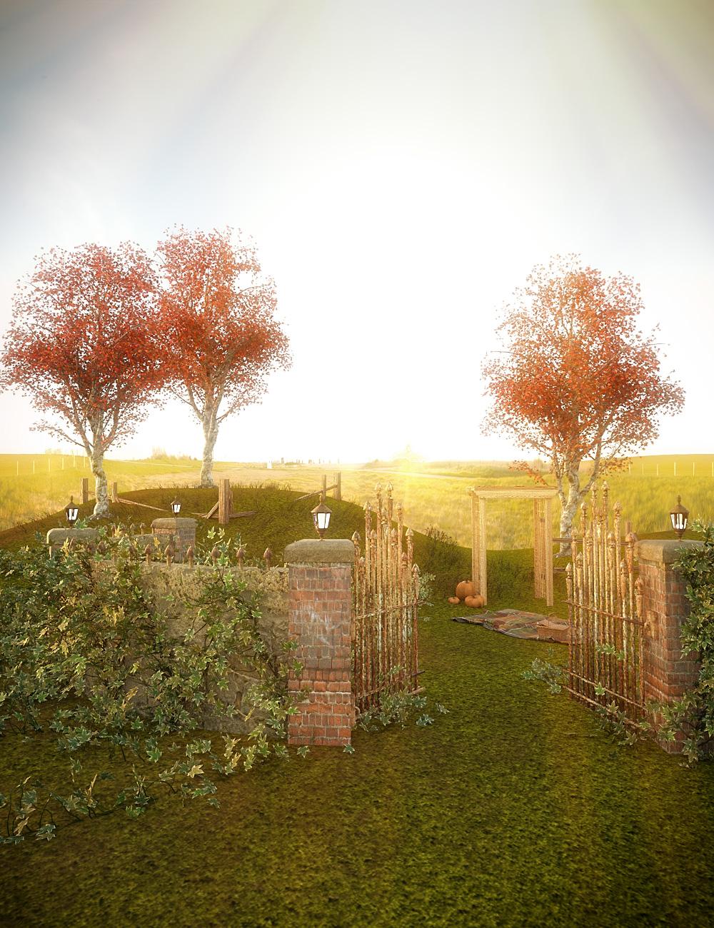Autumn Picnic by: , 3D Models by Daz 3D