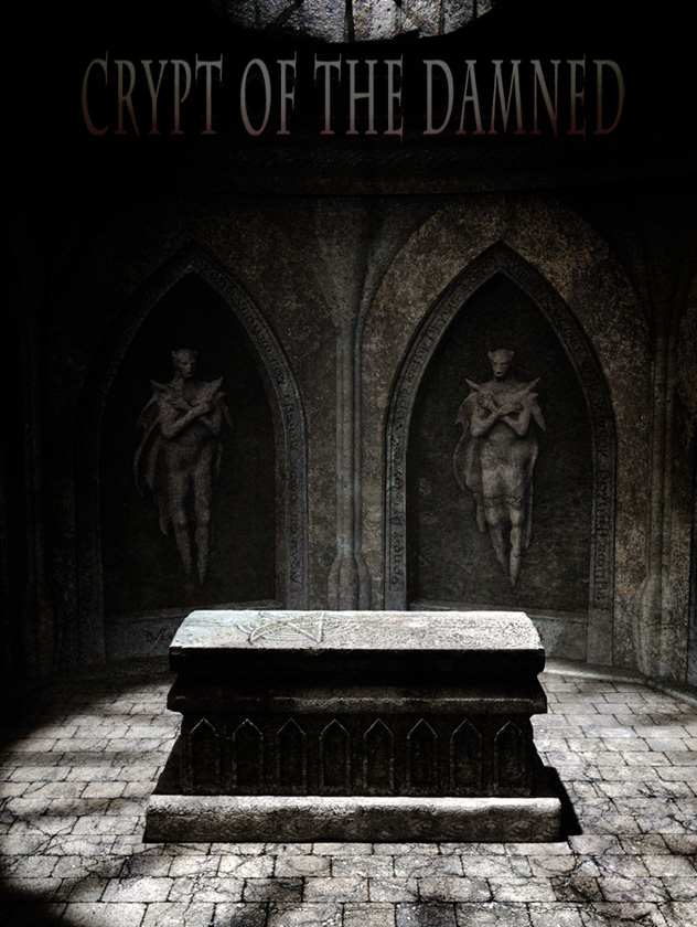 Crypt of the Damned by: Aako, 3D Models by Daz 3D