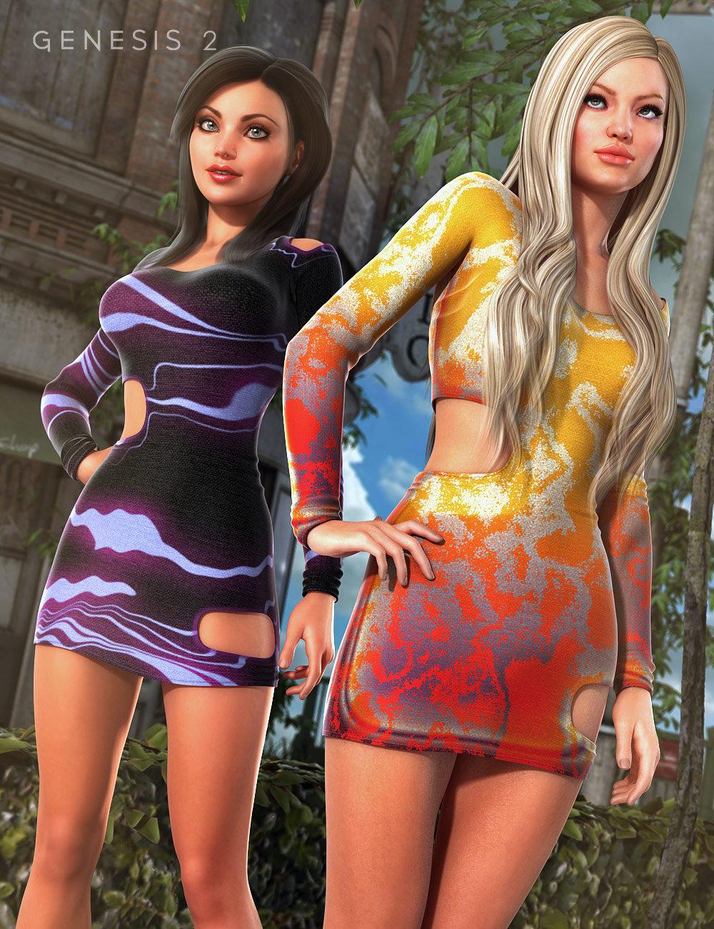 Italian Bucca Dress Textures by: Vasily Levin, 3D Models by Daz 3D