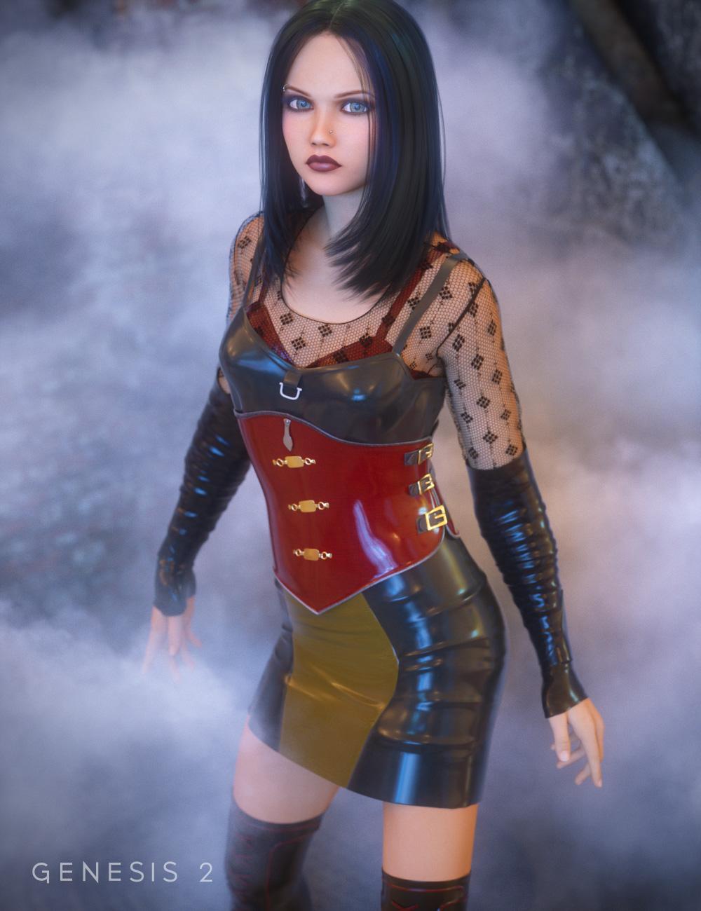 Emotions for Teen Josie by: Ravenhair, 3D Models by Daz 3D
