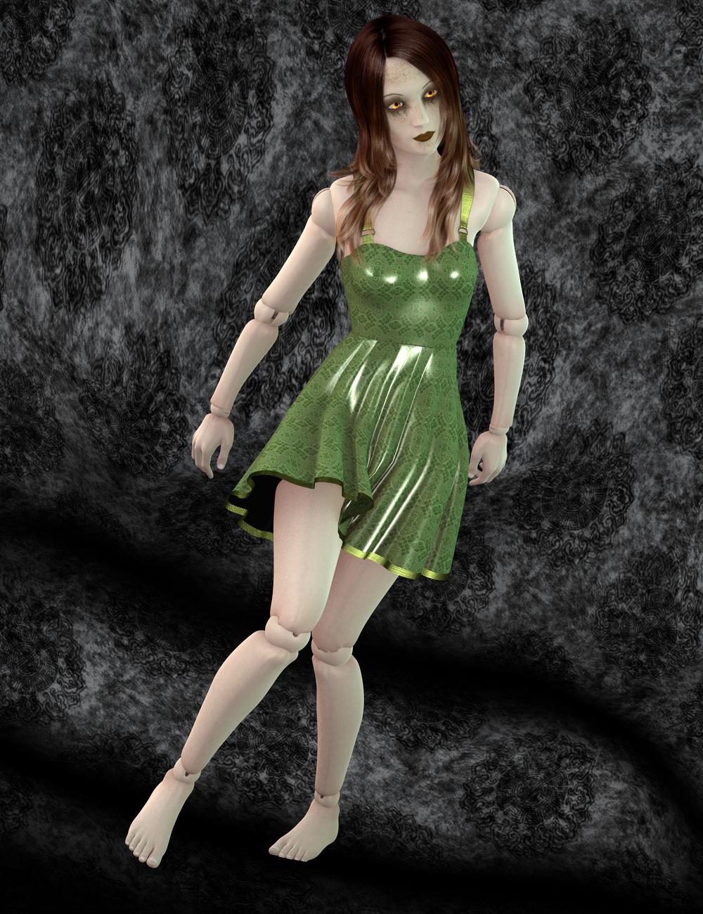Ball Joint Doll for Genesis 2 Female(s) by: FuselingSickleyield, 3D Models by Daz 3D