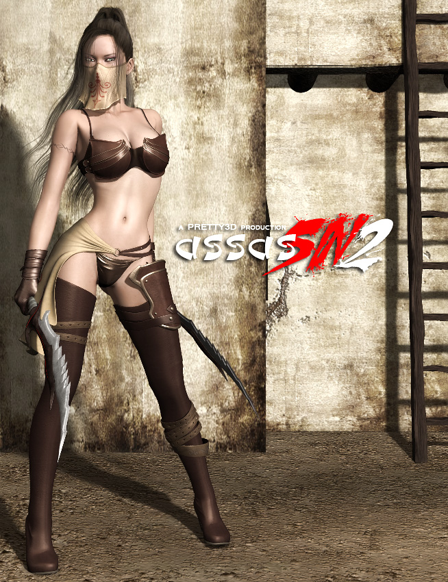 AssasSIN 2 by: Pretty3D, 3D Models by Daz 3D