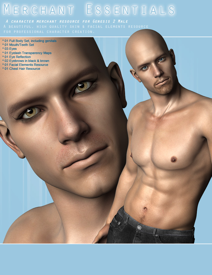 The Ultimate Merchant Resource Kit for Genesis 2 Male(s) by: ForbiddenWhispers, 3D Models by Daz 3D