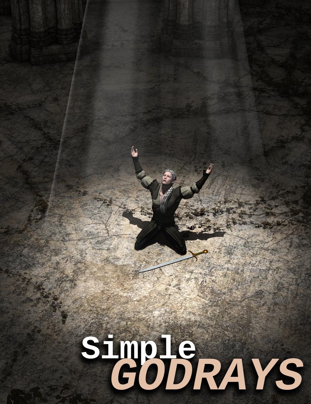 Simple Godrays by: Sickleyield, 3D Models by Daz 3D