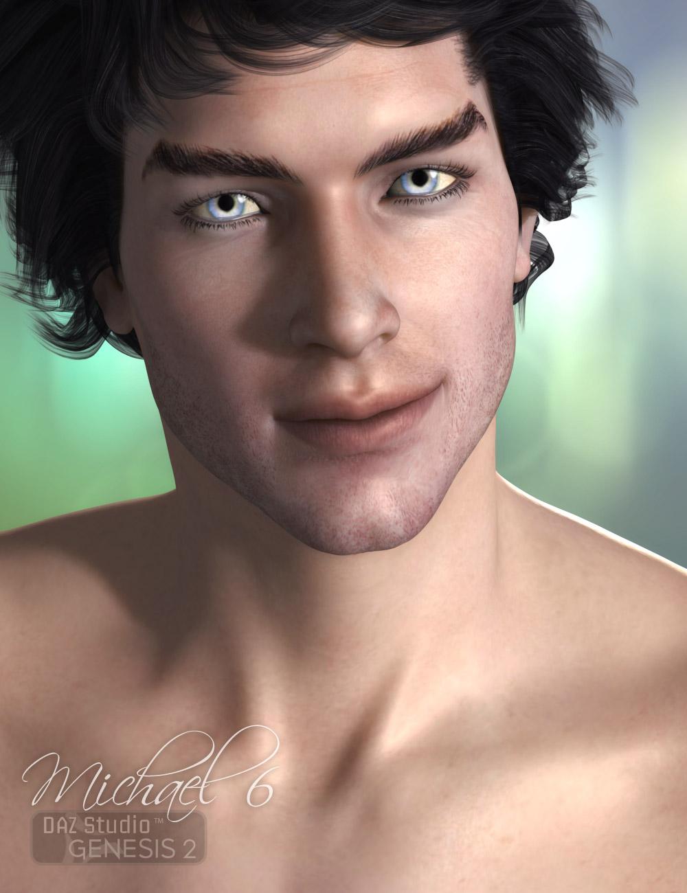 Milen M6 Promo Guy by: AprilYSH, 3D Models by Daz 3D