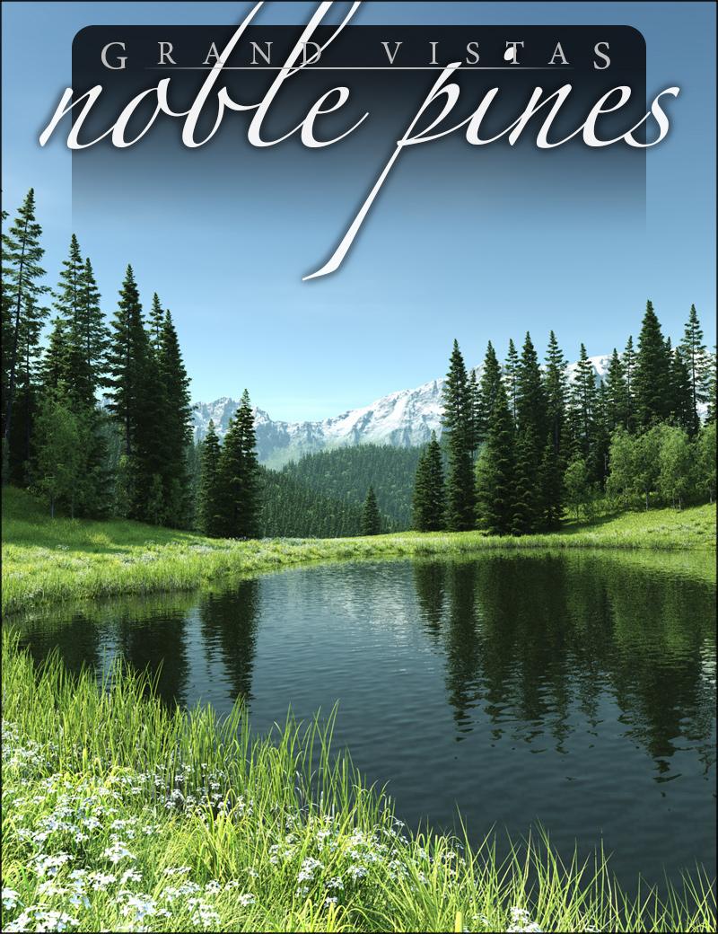 Noble Pines by: HowieFarkes, 3D Models by Daz 3D