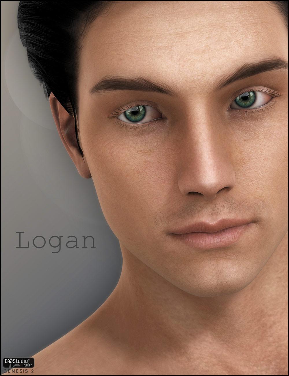 Logan by: CountessJessaii, 3D Models by Daz 3D