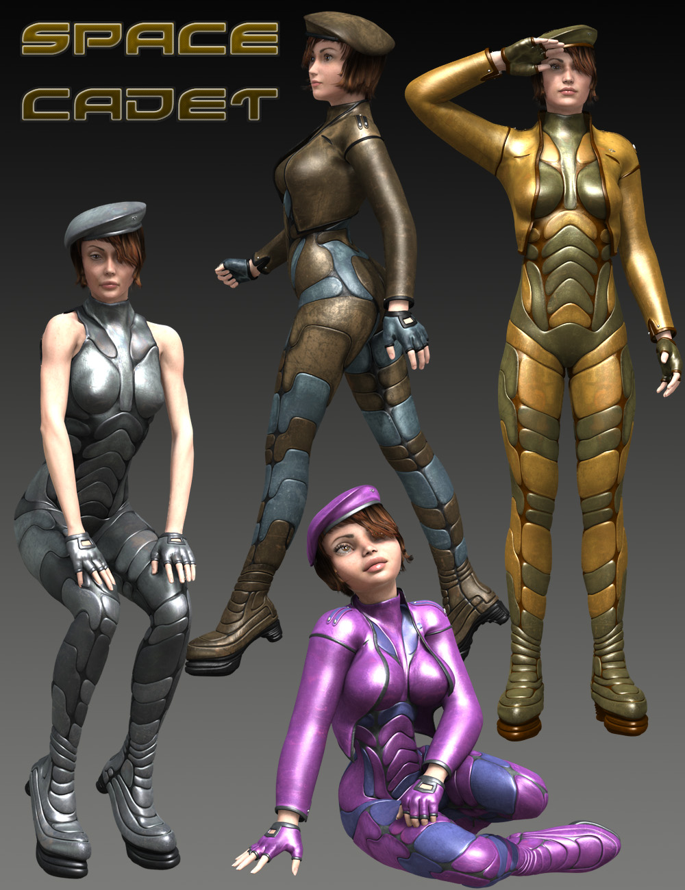 Space Cadet for Genesis by: midnight_stories, 3D Models by Daz 3D